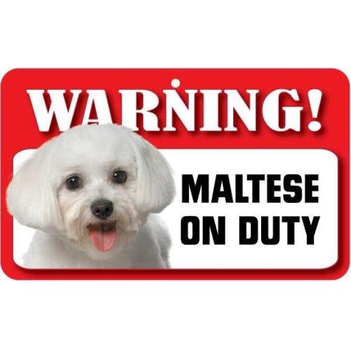 Maltese Pet Sign