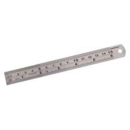 "6/"" inch 150mm 15CM  Steel Rule Ruler Imperial Metric Measuring cutting"
