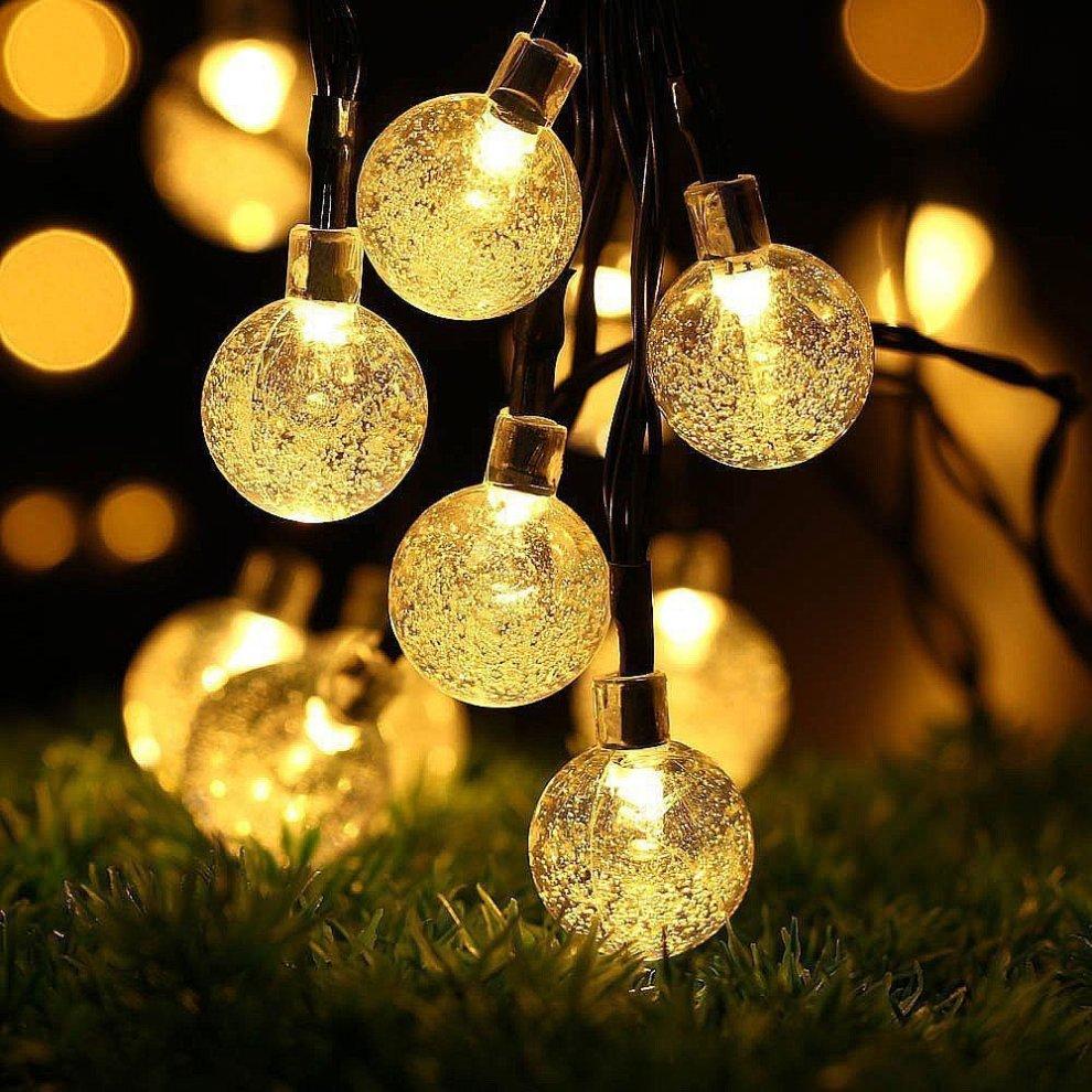 Ledgle Globe Solar String Lights 20ft