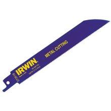 Irwin 10504143 Sabre Saw Blades 614R 150mm Bi-Metal Metal Pack of 25