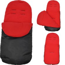 Footmuff / Cosy Toes Red