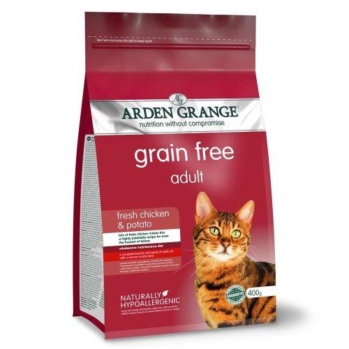 Arden Grange Cat Adult Chicken & Potato (400g)