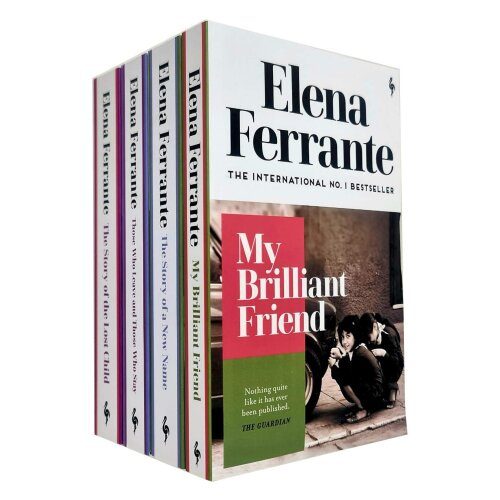 Neapolitan Quartet Elena Ferrante Collection 4 Books Set