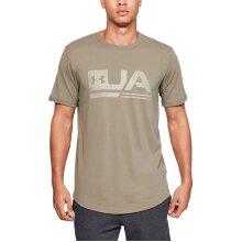 Under Armour Mens Sportstyle Drop Hem Soft Crew Loose Comfort T-Shirt