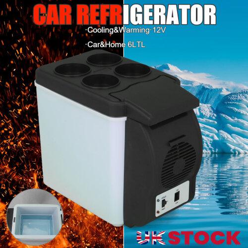 6L 12V Portable Mini Car Freezer Cooler Warmer Electric Fridge