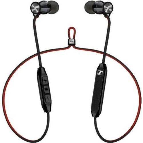 Sennheiser Momentum Free Wireless In-Ear Headphones - M2IEBT SW - Black/Red