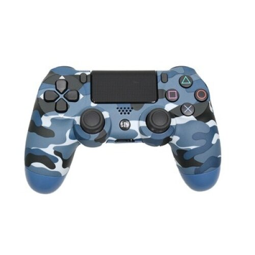 (Camouflage BLUE) DoubleShock 4 Game Controller | Unofficial PS4 Controller