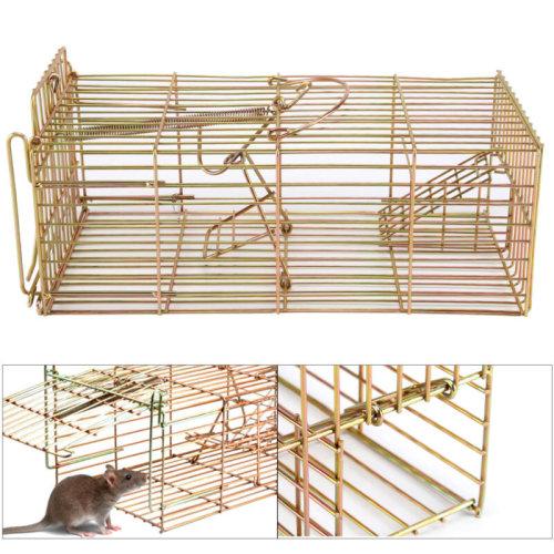 Heavy Duty Rat&Squirrel Cage Trap Live Catch Humane No Poison Defender