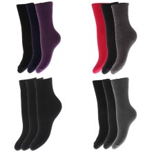 FLOSO Childrens Boys/Girls Winter Thermal Socks (Pack Of 3)