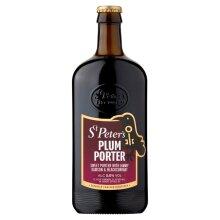 St Peter's Plum Porter Ale 5% - 8x500ml