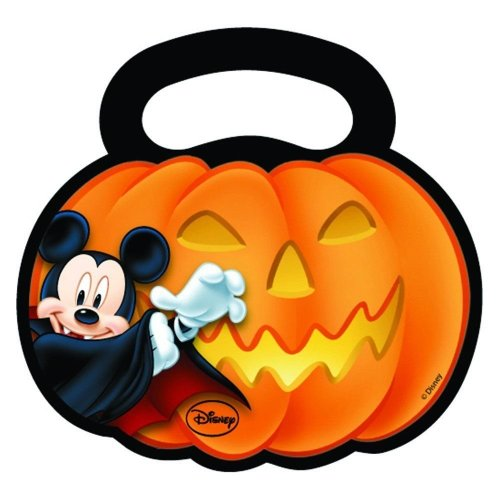 Pack of 30 Mickey Mouse Halloween Plastic Party Bags Disney favour Bag