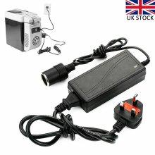 60W Car Cigarette Lighter Socket Converter Power Adapter 12V 5A