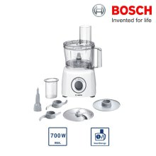 Bosch MCM3100WGB MultiTalent 3 Compact Food Processor 700W 2 Speed Settings - Refurbished