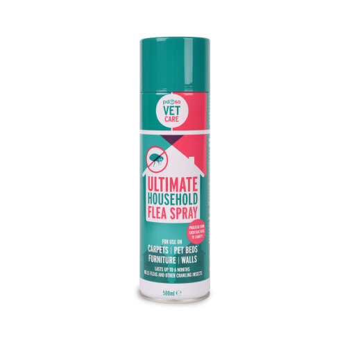 Pdsa Ultimate Household Flea Spray 500ml