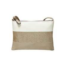 NV766 BEIGE MULTI HANDBAG