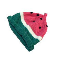 Baby Handmade Knit Hat Children's Autumn And Winter Cute Warm Hat