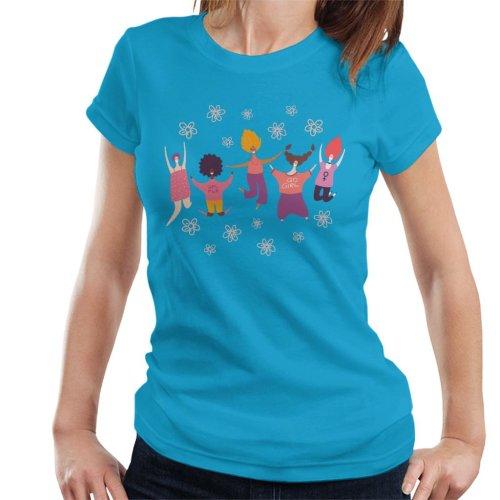 Girl Power Flowers Women's T-Shirt