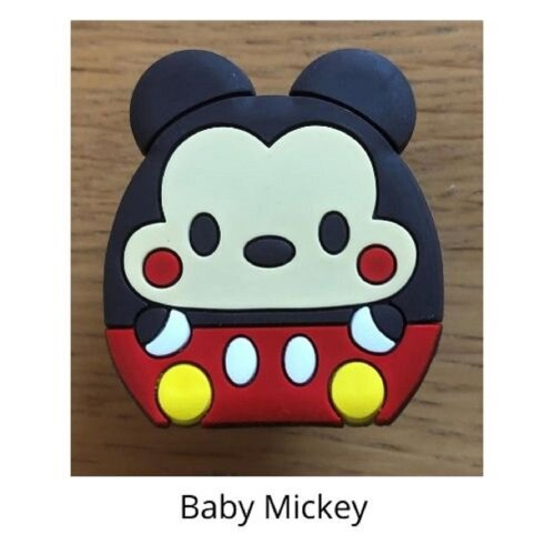 (Baby mickey) mobile phone holder Socket Finger grip Stand UK