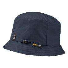 Jack Wolfskin Stow Away Mens Womens Adult Bucket Hat Navy Blue