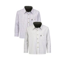 Walker and Hawkes - Kids Long Sleeved 100% Mickleton Cotton Country Check Shirt