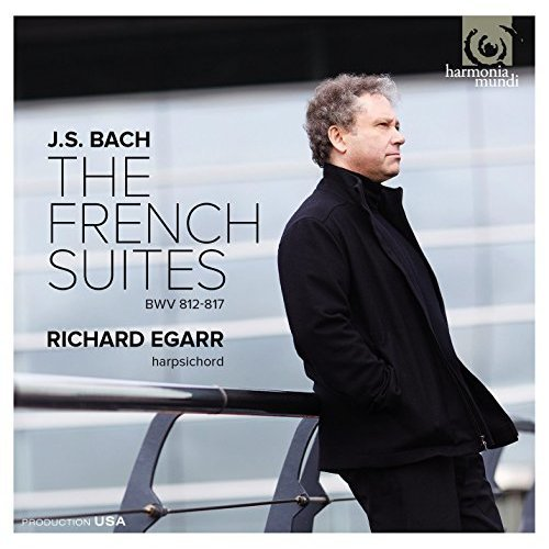 Richard Egarr - Bach: 6 French Suites BWV812-817 [CD]