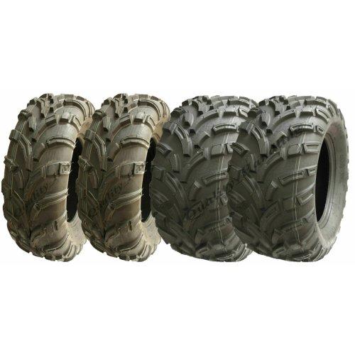 Quad Tyres 25x8-12 & 25x11-12 6ply road legal ATV - set of 4