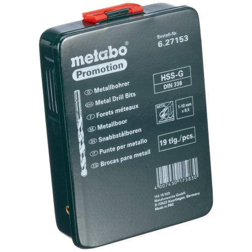 Metabo forets-Cassette 8 pièces