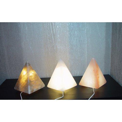 Salt Lamp Pyramid USB Himalayan 1-2kg