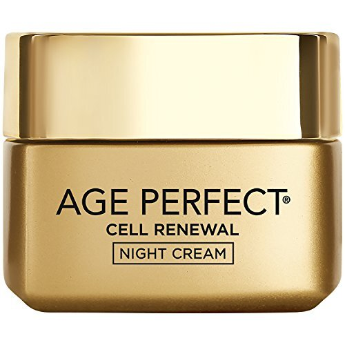 Face Moisturizer, L'Oreal Paris Age Perfect Cell Renewal Skin Renewing Night Cream Moisturizer with Salicylic Acid, Stimulates Surface Cell Turnover f
