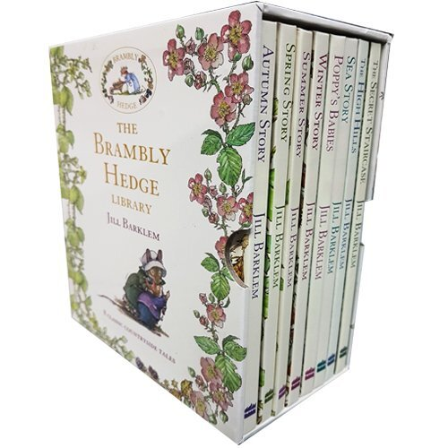Brambly Hedge Collection Jill Barklem 8 Books Set
