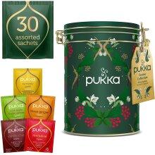 Pukka Herbs Christmas Tin, Herbal Tea Gift Set 57 g