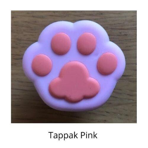 (Tappak Pink) mobile phone holder Socket Finger grip Stand UK