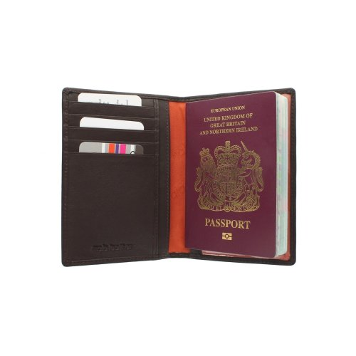 Mala Leather ORIGIN Collection  Passport Holder With RFID Protection 214_5