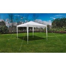 vidaXL Pyramid-Roof Garden Gazebo Pavilion 3x3m Outdoor Canopy Gazebo Marquee