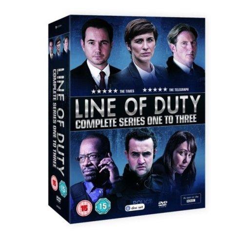 Line of Duty: Series 1-3 DVD Box Set
