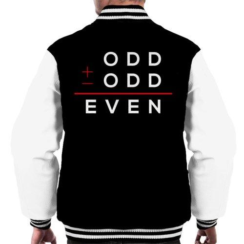 Odd Plus Odd Equels Even Men's Varsity Jacket
