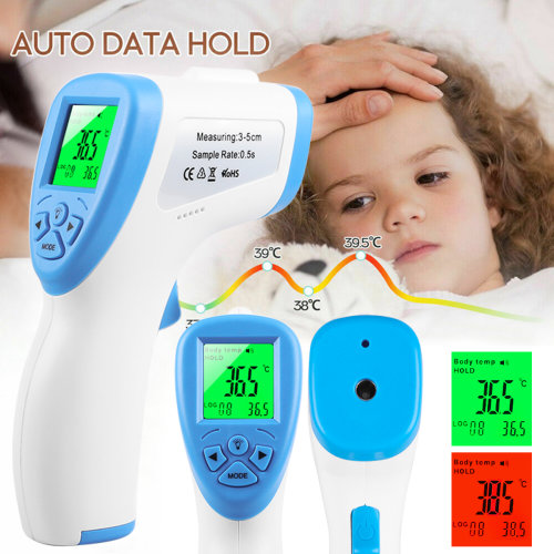IR Infrared Digital Thermometer Non-Contact Forehead Meter For Baby/Adult