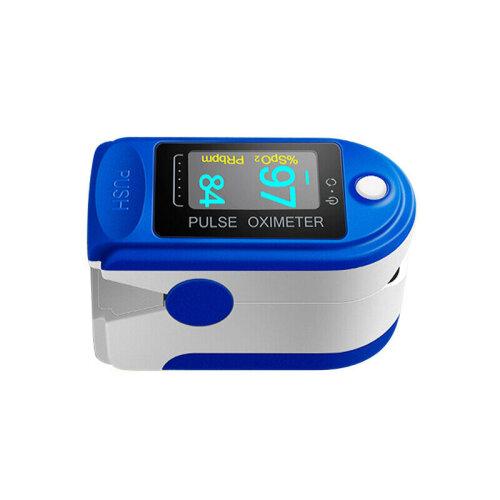 Finger Tip Pulse Oximeter Blood Oxygen Sensor O2 SpO2 Heart Rate Patient Monitor