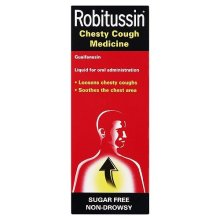 Robitussin Chesty Cough Mixture Syrup Medicine 100ml
