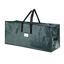 Elf Stor 83-DT5513 5066 Christmas Bag-Large for a 7.5 Foot Artificial Tree in Green-Easy Holiday Decor Storage