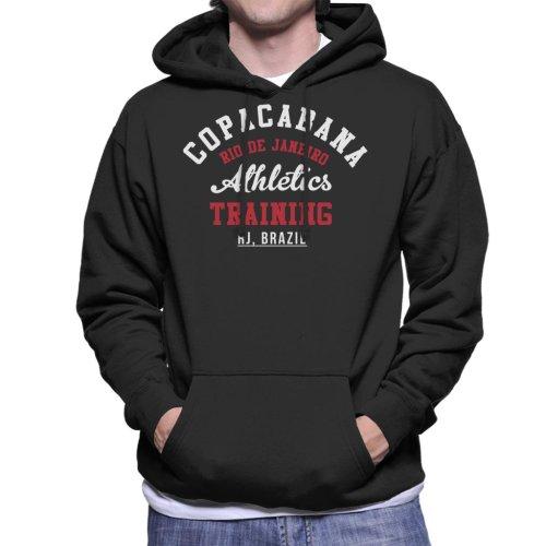 (Large) Copacabana Athletic Training Men's Hooded Sweatshirt