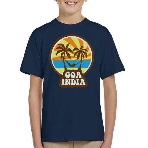 Goa India 70s Style Kid's T-Shirt