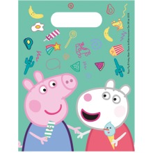 Peppa Pig, Susie Sheep Birthday Party Loot Bags - 6pk