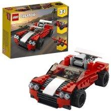 LEGO 31100 Creator 3in1 Sports Car - Hot Rod - Plane