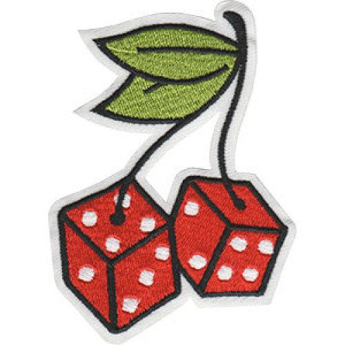 Patch - Cherries - Dice Cherries Icon-On p-dsx-4869