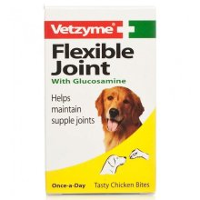 Vetzyme Flexible Joint Tablets for Dogs with Glucosamine