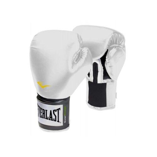 EVERLAST Training Gloves Pro Style White 8oz Sparring Punching Kickboxing