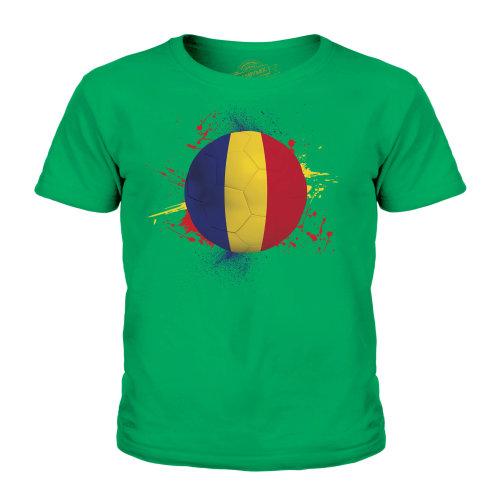 Candymix - Romania Football - Unisex Kid's T-Shirt