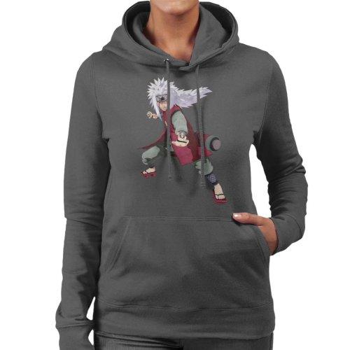 Jiraiya Pose Naruto Women's Hooded Sweatshirt