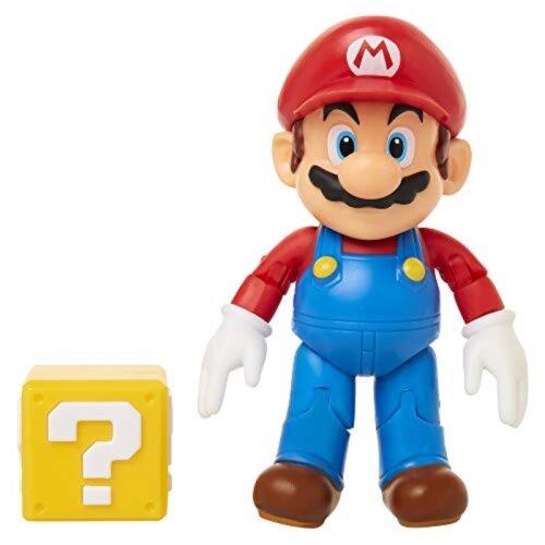 SUPER MARIO Nintendo 4 with Question Block